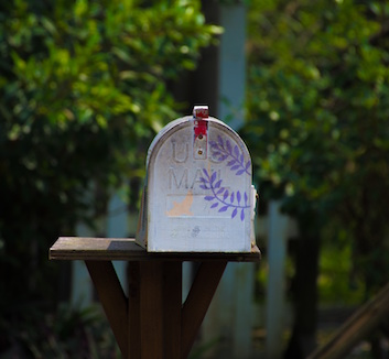 The mailbox of Adriaan van Rossum